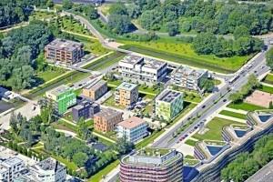 IBA Hamburg: In Wilhelmsburg präsentiert die Bauausstellung neue Gebäudekonzepte wie Hybrid Houses, Water Houses und Smart Material Houses