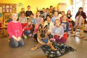 Klasse 3d der Grundschule in Pattensen © Jola Horschig